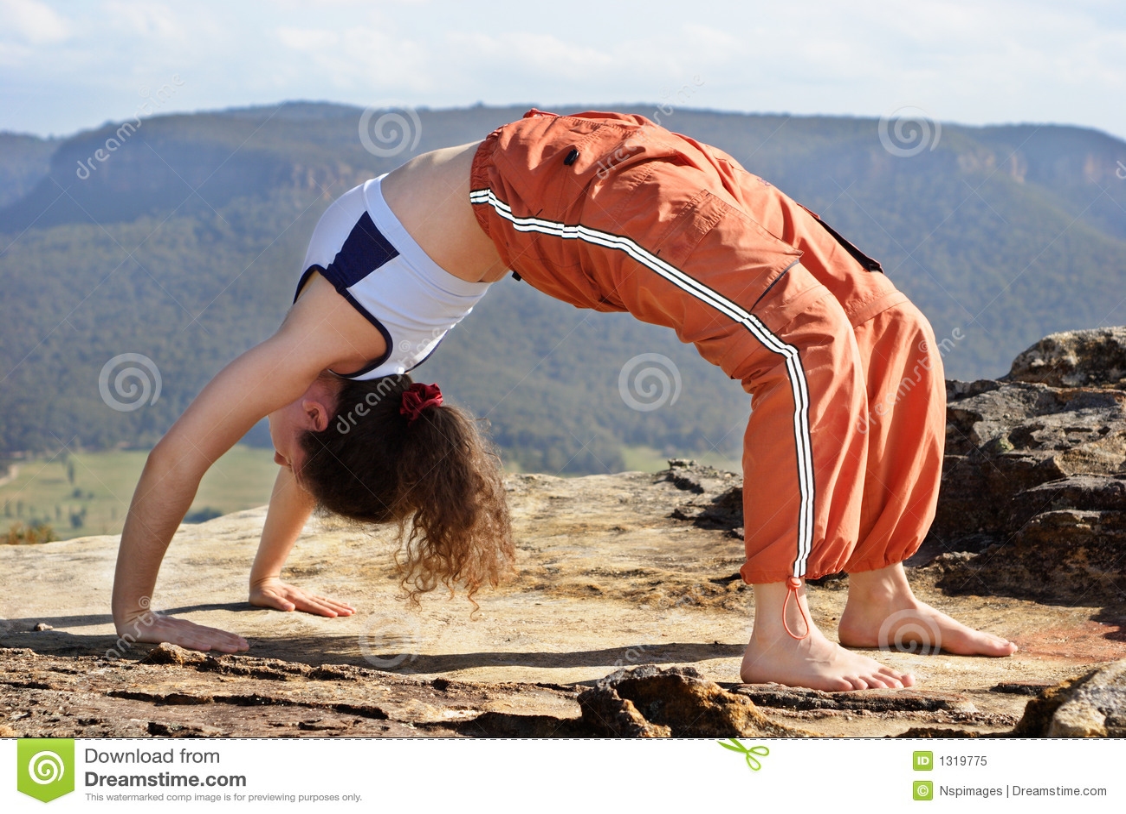 Yoga för 3 berg