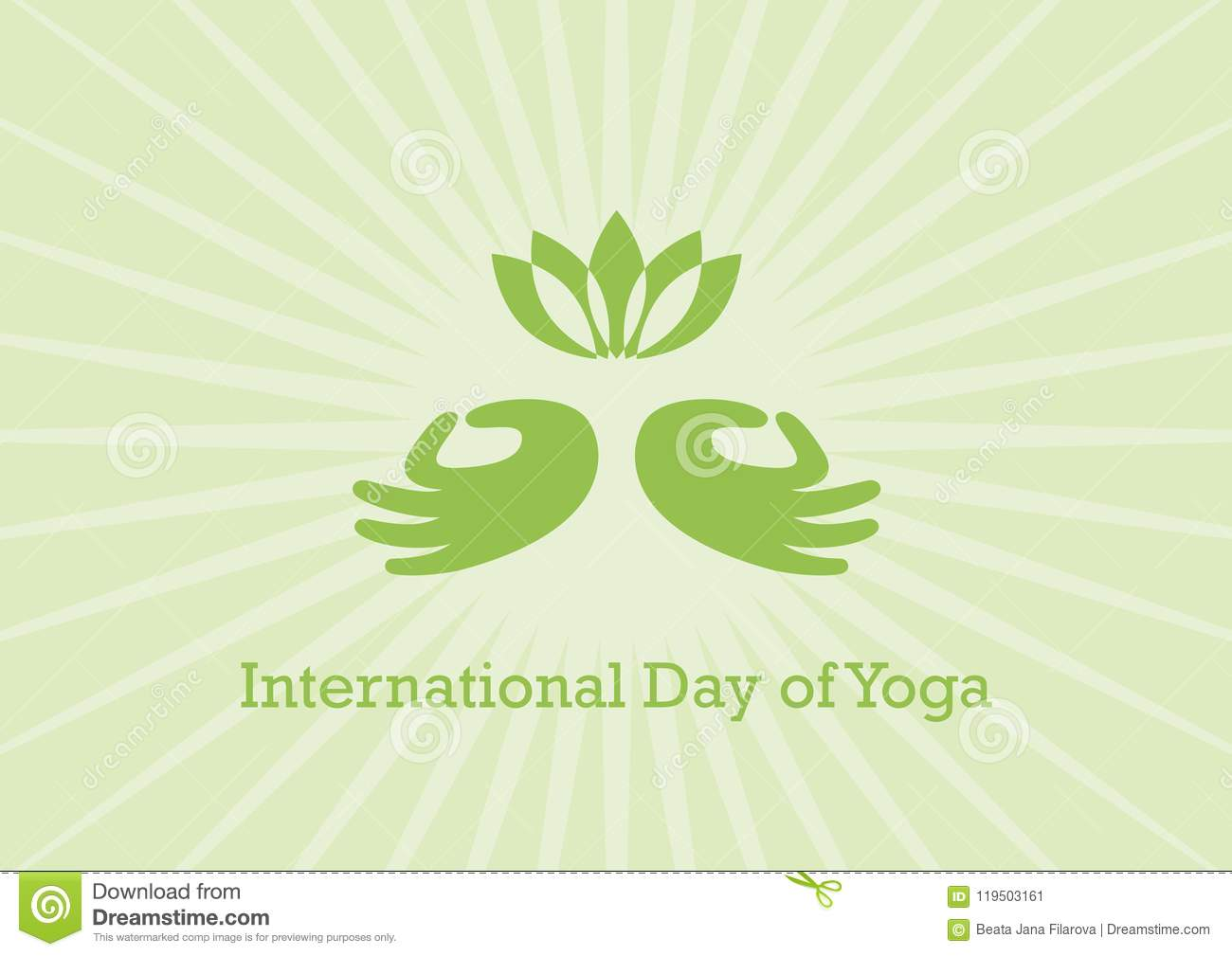 international day of yoga vector download preview