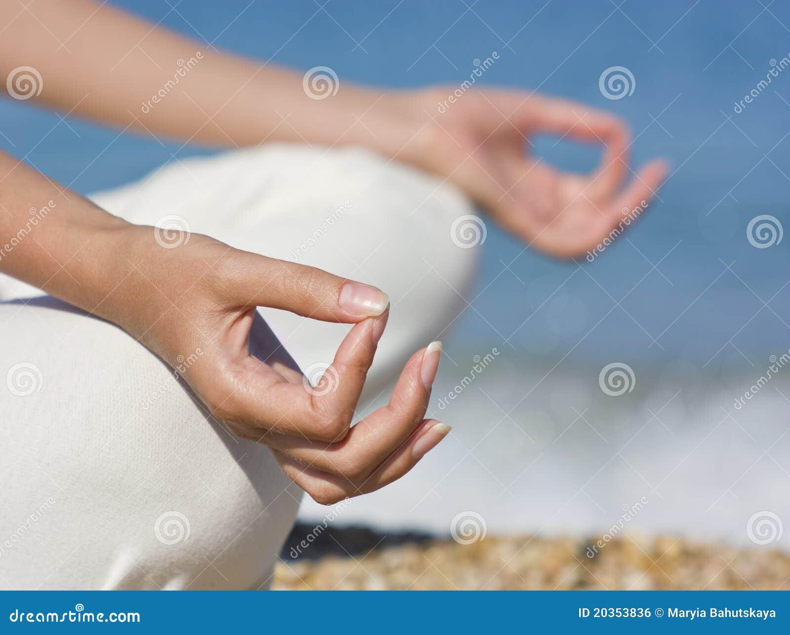 Yoga Hands on Mind Body Soul Spirit