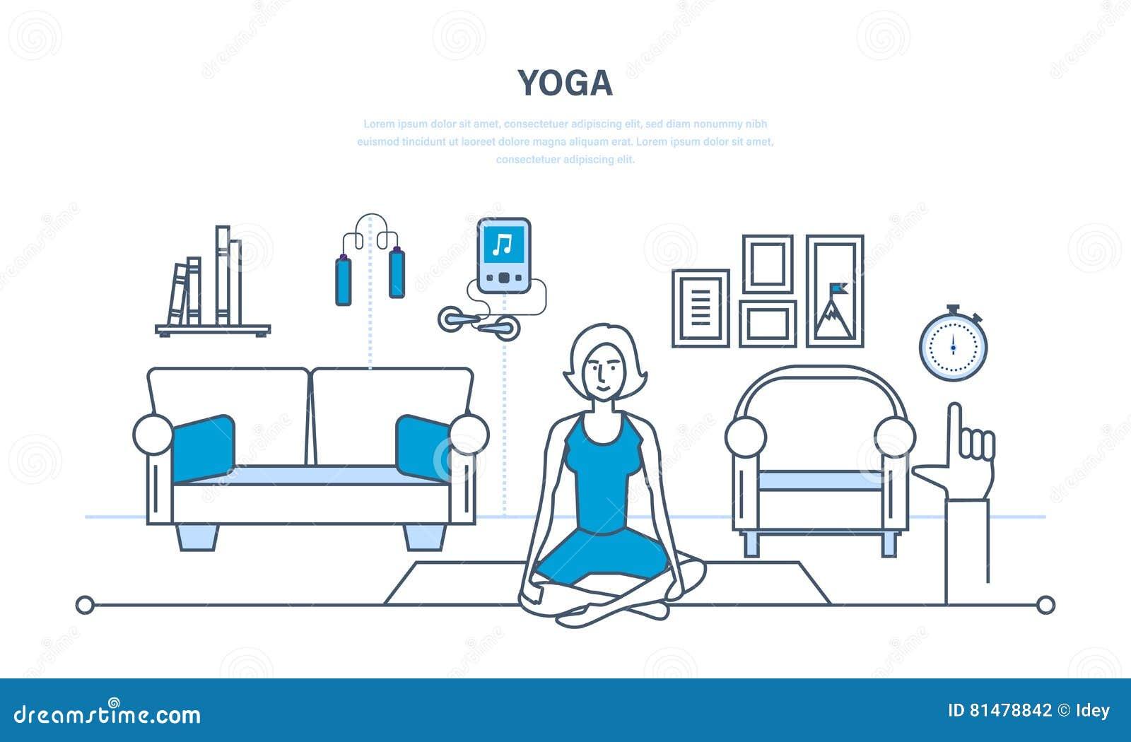 Wunderbar Yoga Möbel Referenz Von Pattern Yoga, Innenraum Des Raumes, Möbel Für