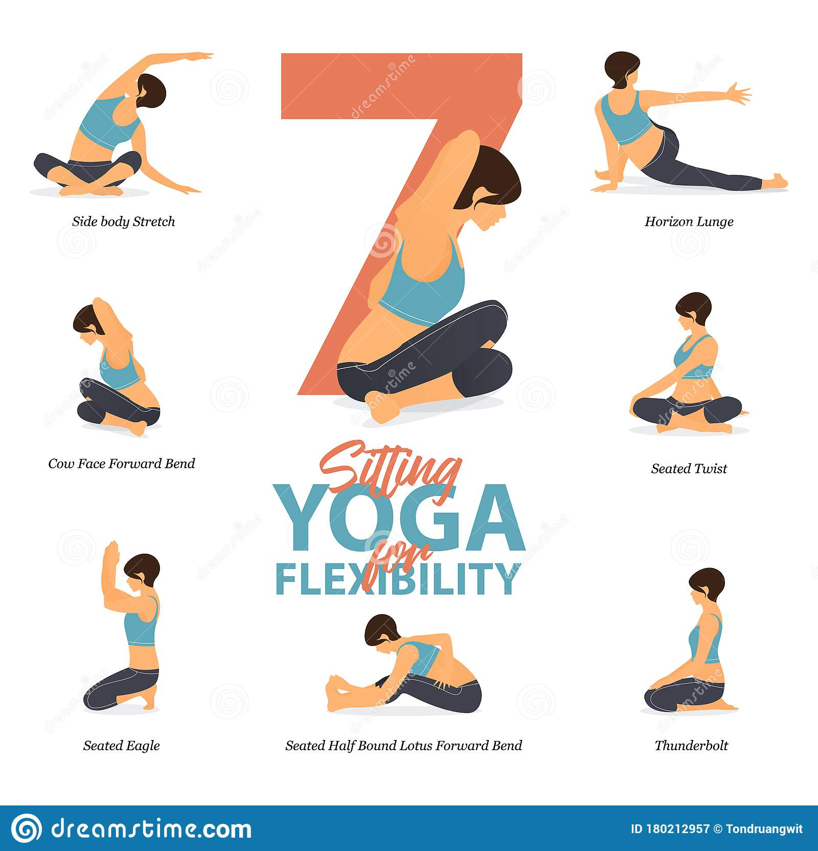 35 Sitting Yoga Poses For Easy Yoga At Home In Concept Of