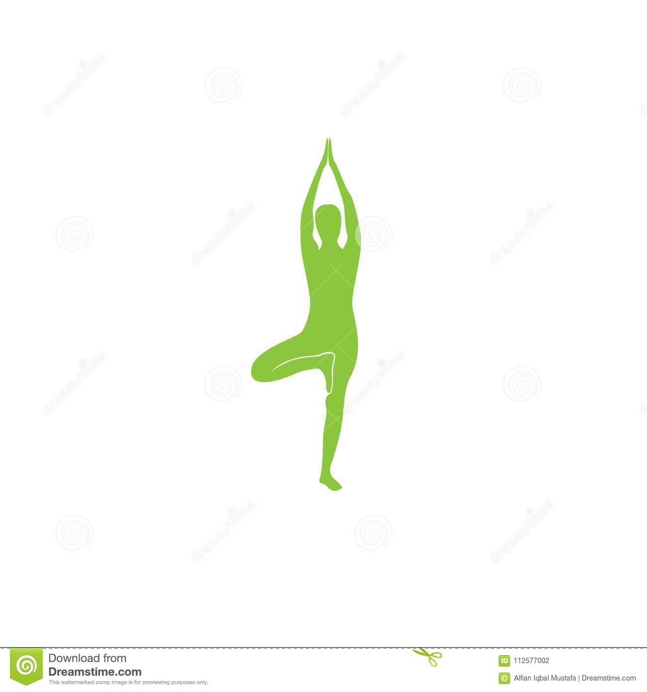 Yoga Logo abstract design vector template. Health Spa Meditation Harmony Logotype concept. Yoga Logo Icon Design.