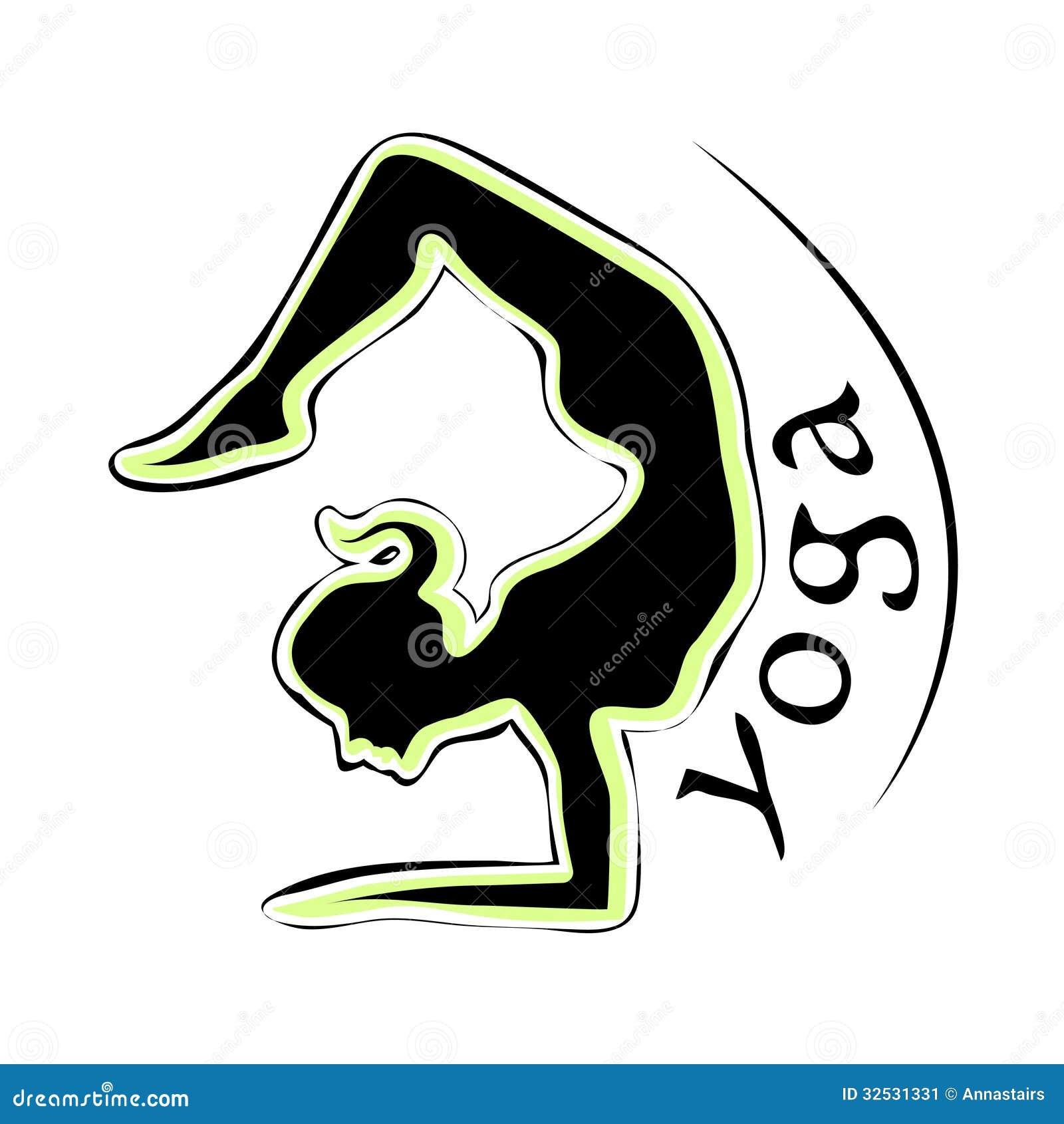Yoga Logo Stock Vector Illustration Of Black Scorpion