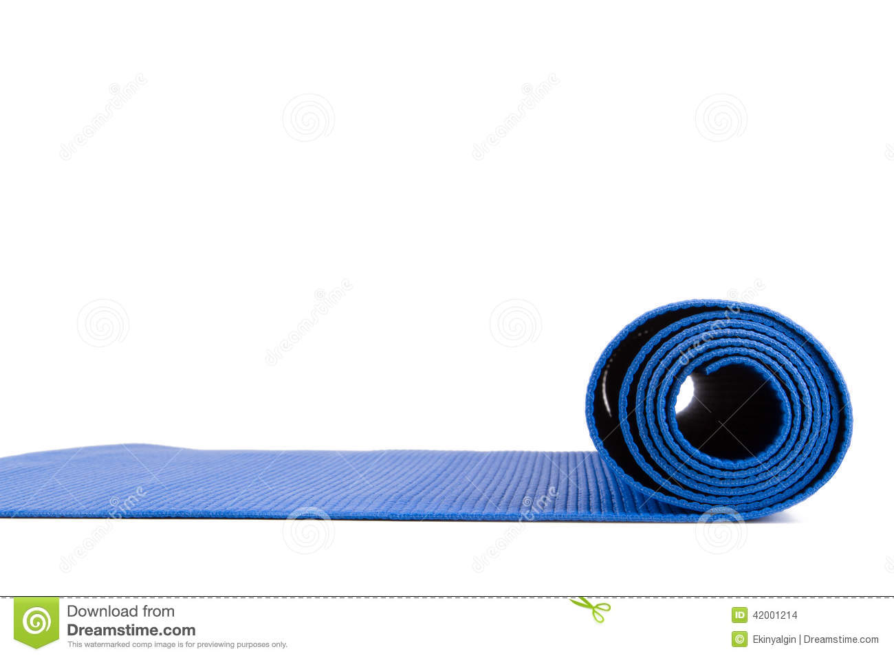 Yoga Mat For Exercise Stock Photo Image 42001214