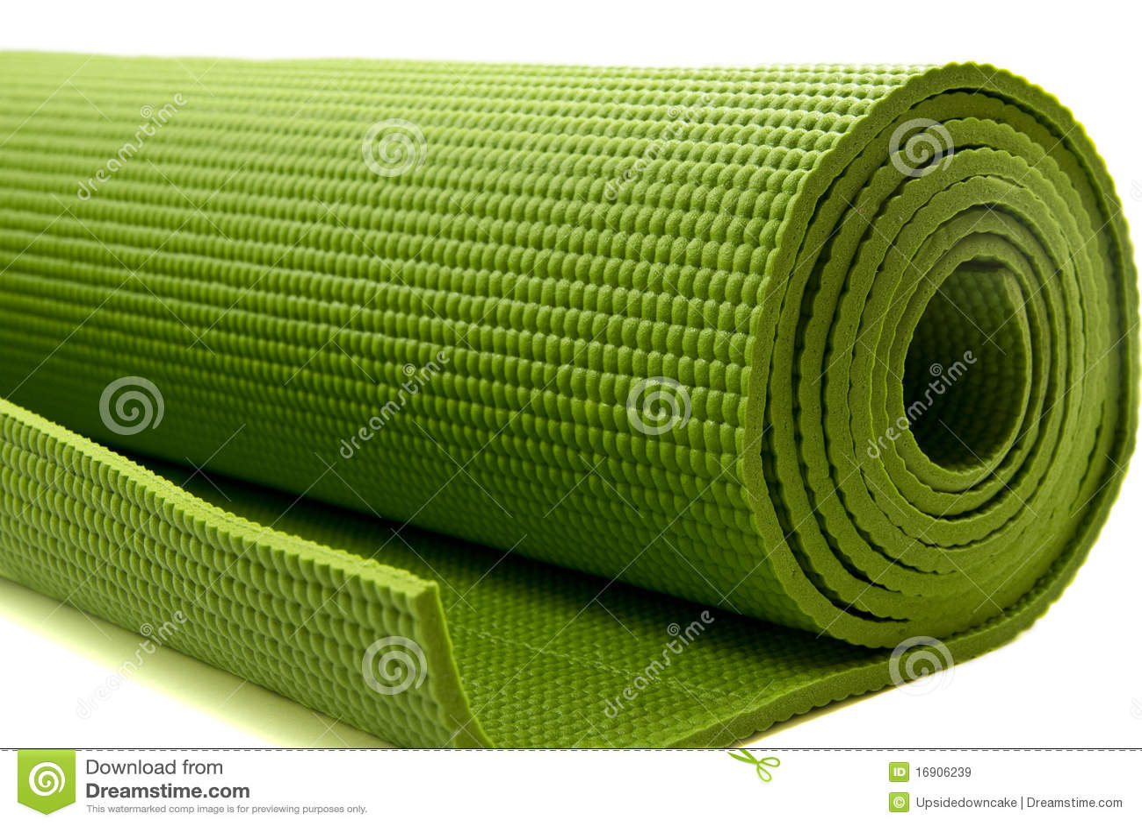 Yoga Mattress Royalty Free Stock Image