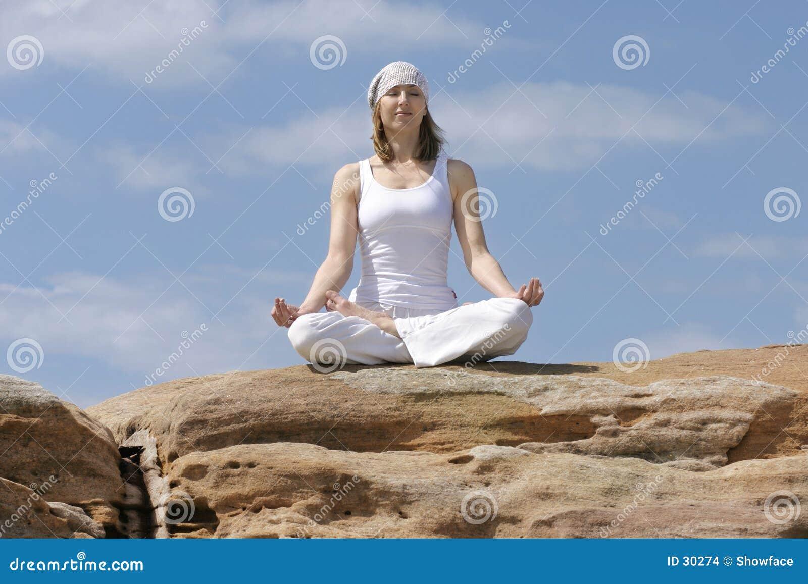 Yoga Meditation Stock Images - Image: 30274