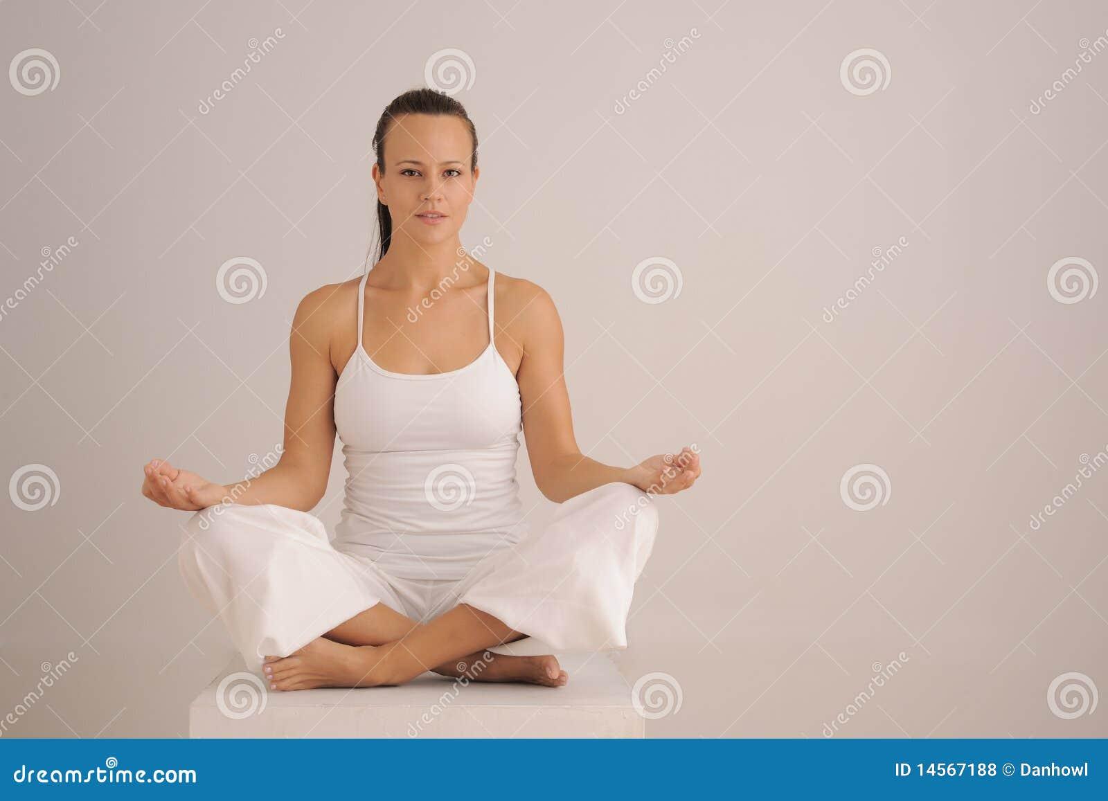 Royalty Free Stock Photos  Yoga Meditation PoseYoga Meditation Pose