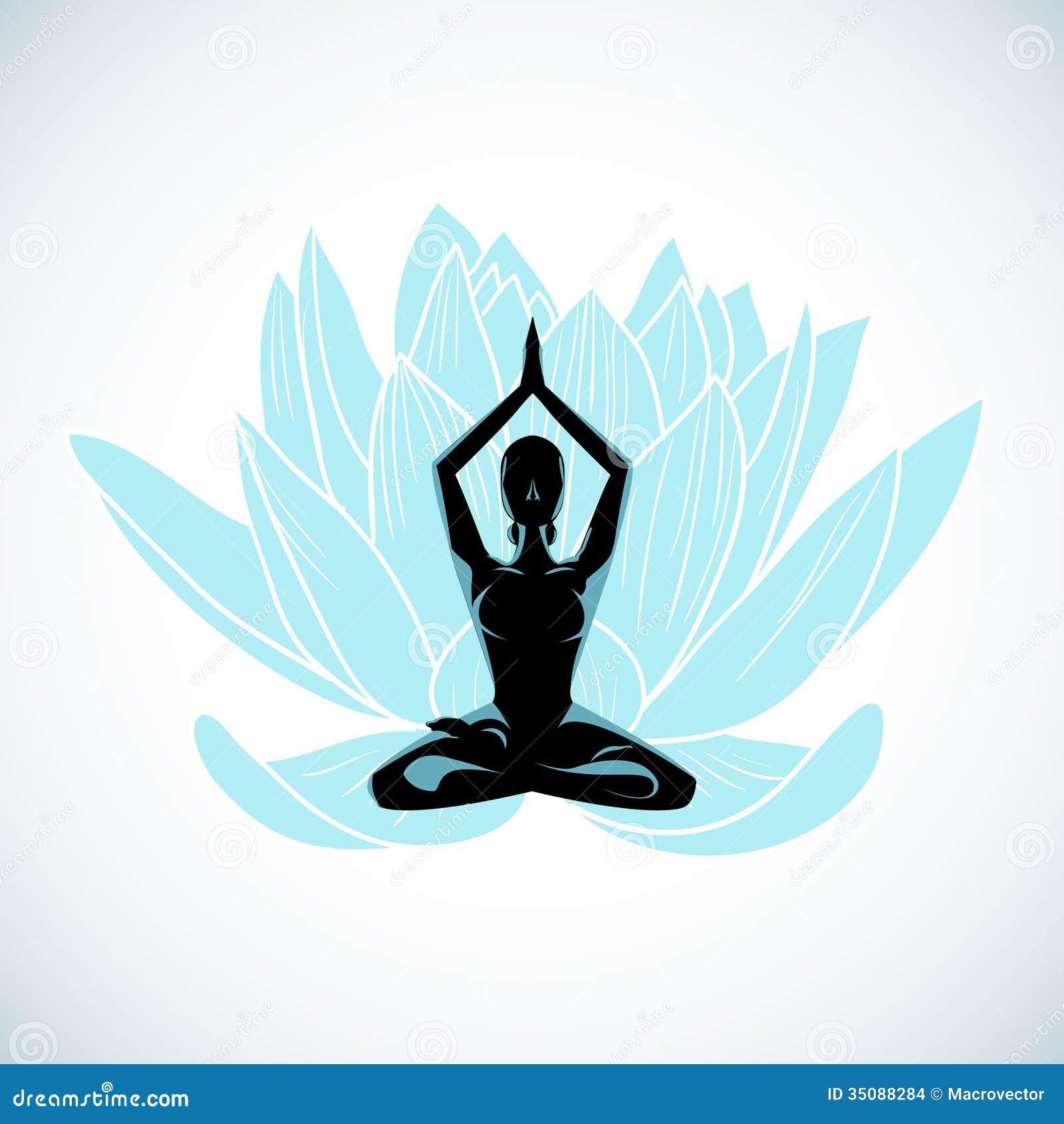 Yoga Symbol Vector | Iscblog