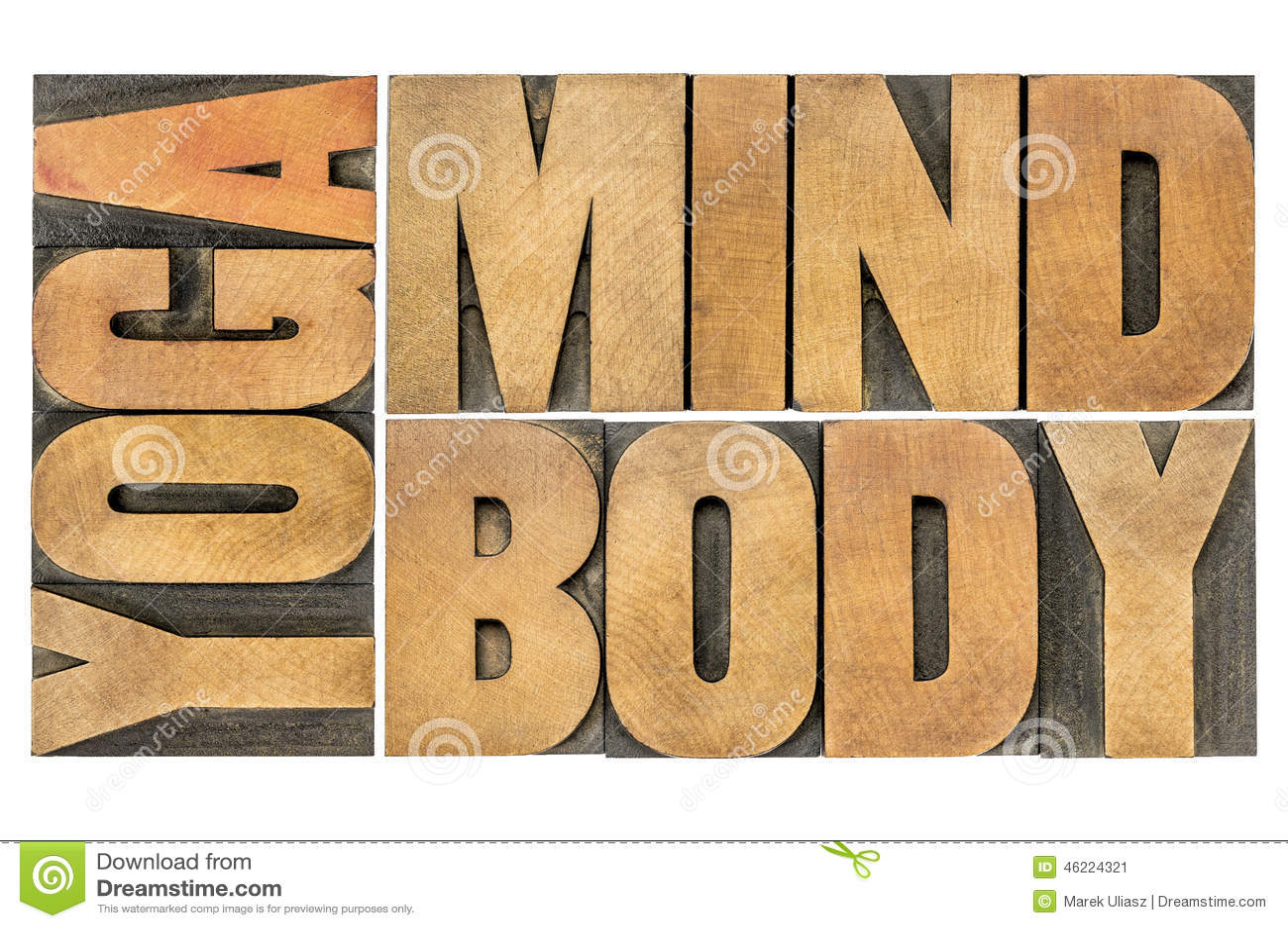 Yoga mening, kroppabstrakt begrepp