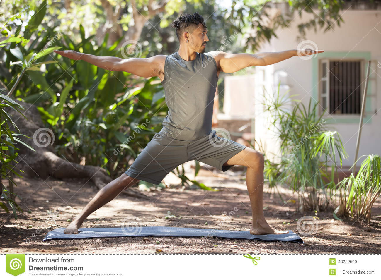 Yoga In Nature Stock Photo - Image: 43282509