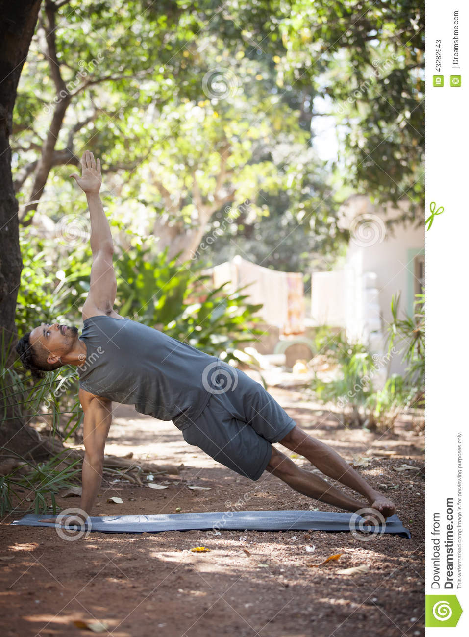Yoga In Nature Stock Photo - Image: 43282643