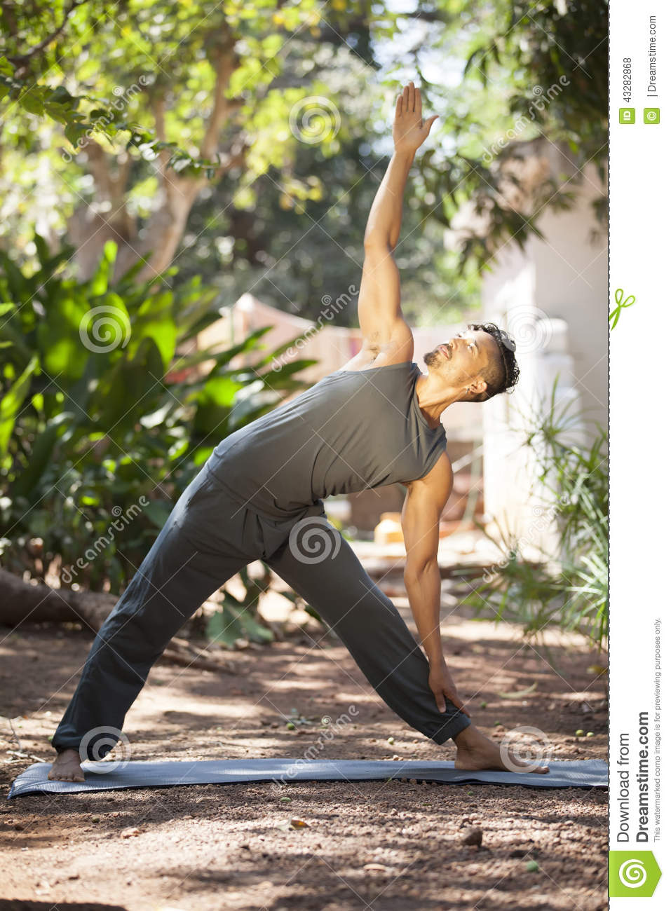Yoga In Nature Stock Photo - Image: 43282868