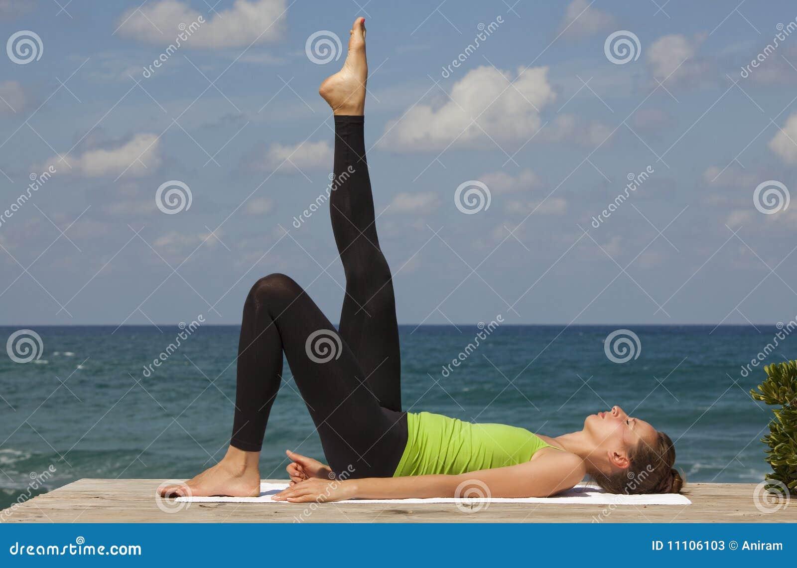 Yoga openlucht