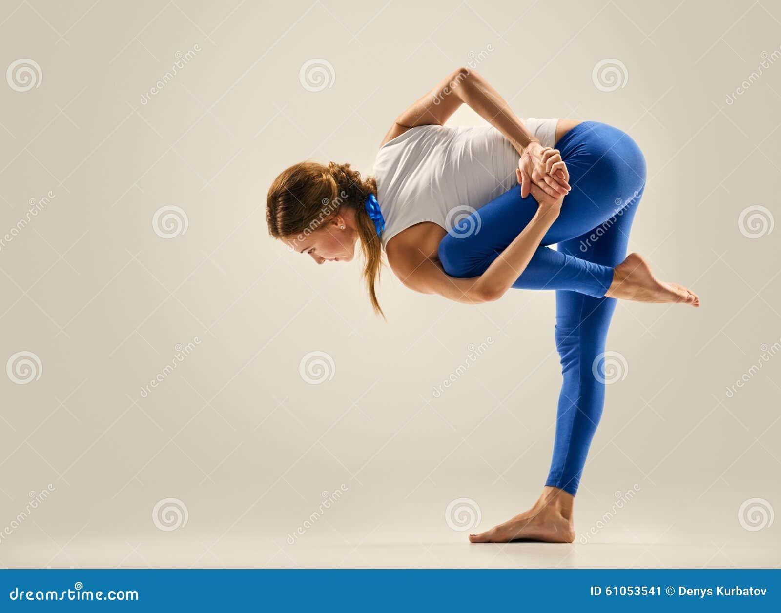 Yoga pose gymnastics stock photo image 61053541 for Floor yoga poses