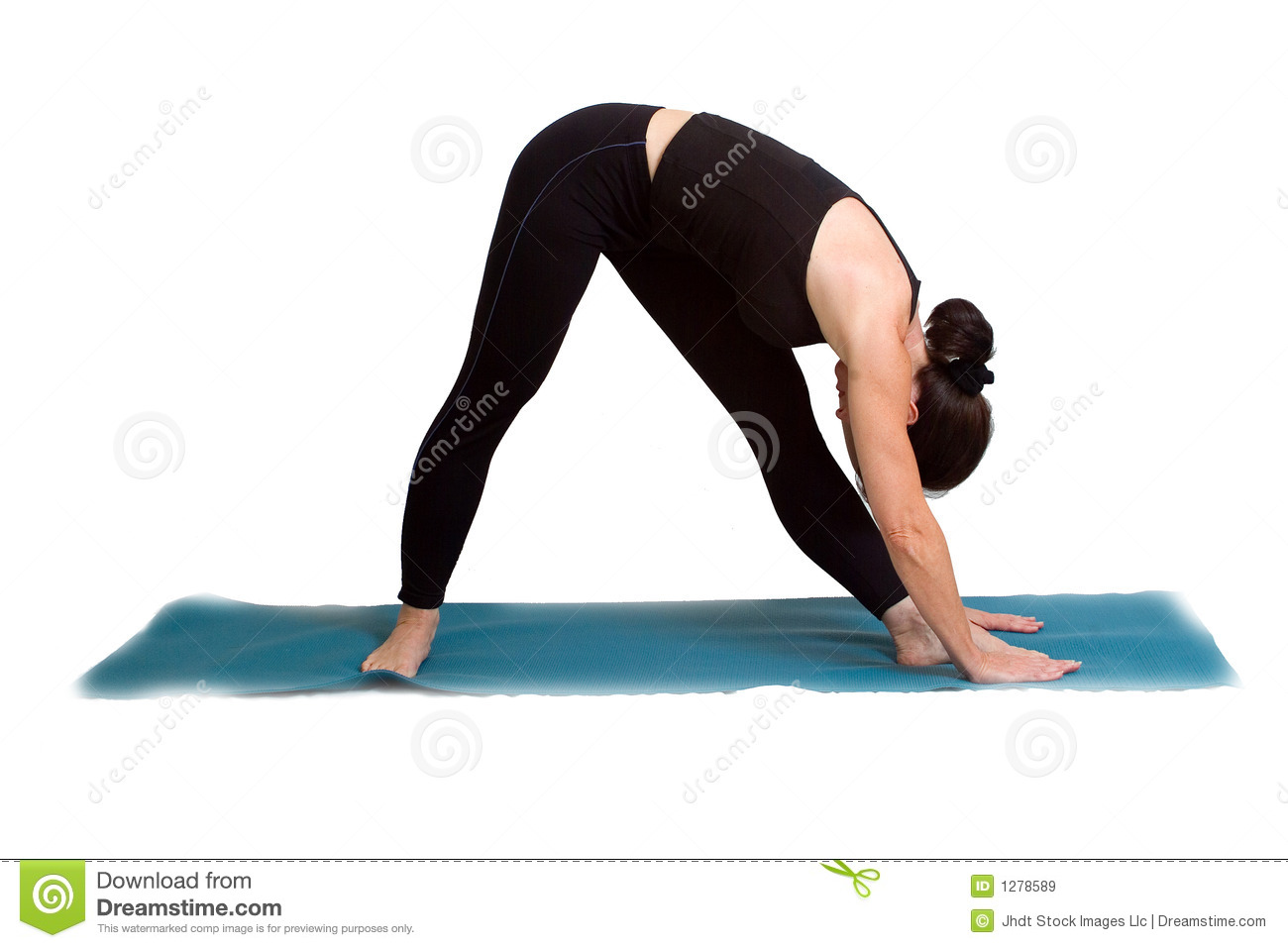 yoga poses and exercise royalty free stock images   image