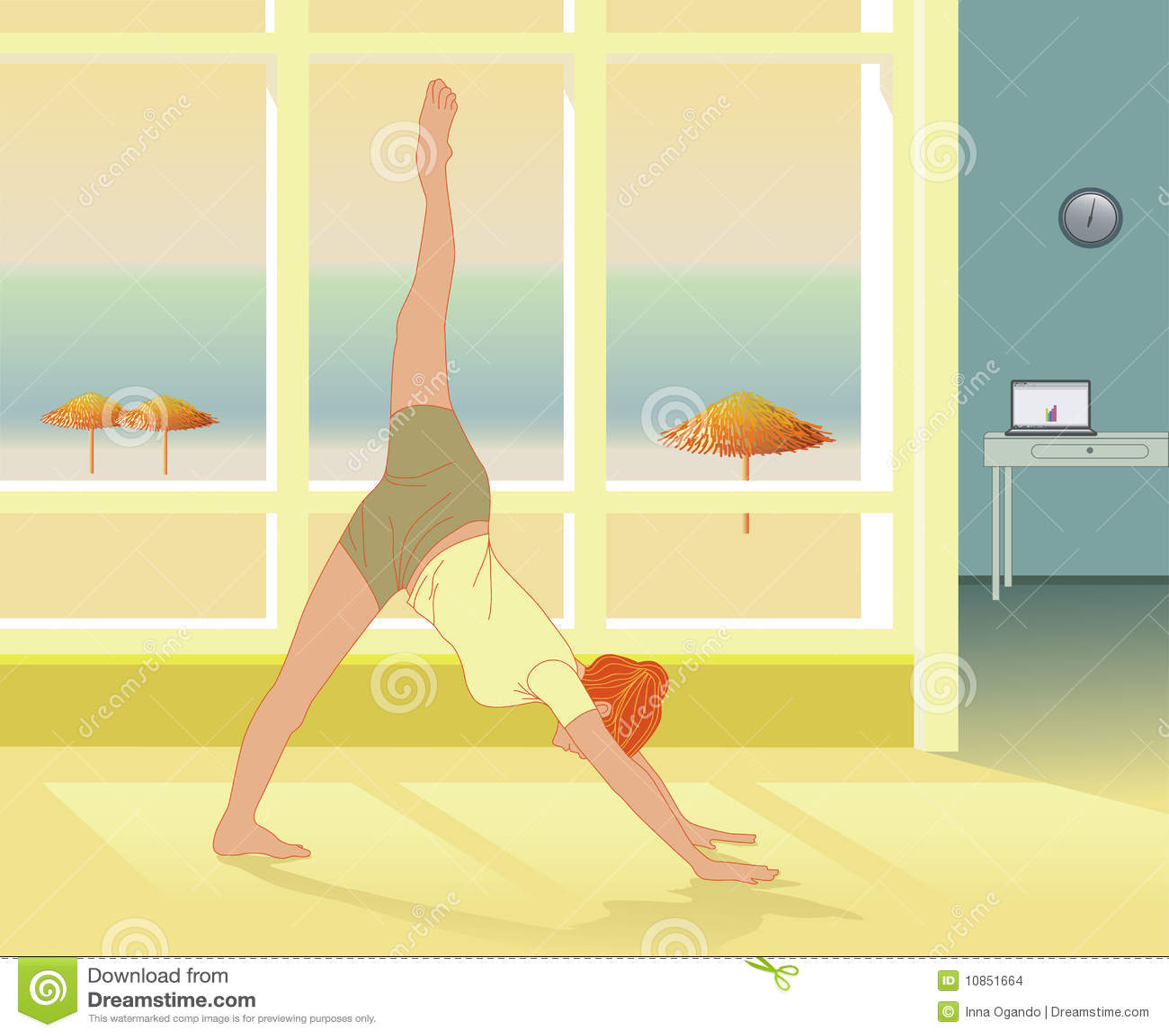 Yoga practice and reiki self healing