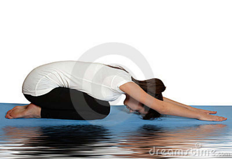Yoga Relaxation Pose Royalty Free Stock Photography - Image: 13276587: dreamstime.com/royalty-free-stock-photography-yoga-relaxation-pose...