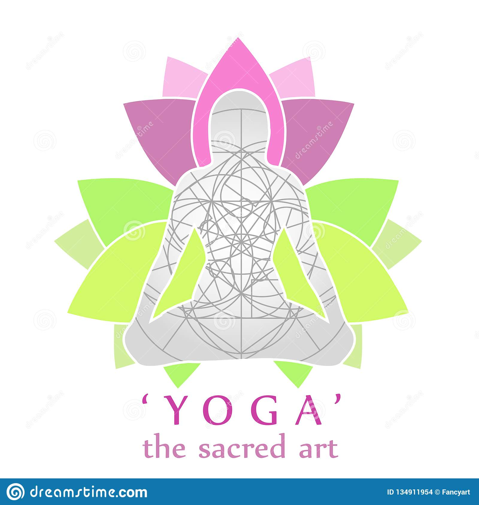 Yoga And Sacred Geometry- Peace Relaxation And Mindfulness For
