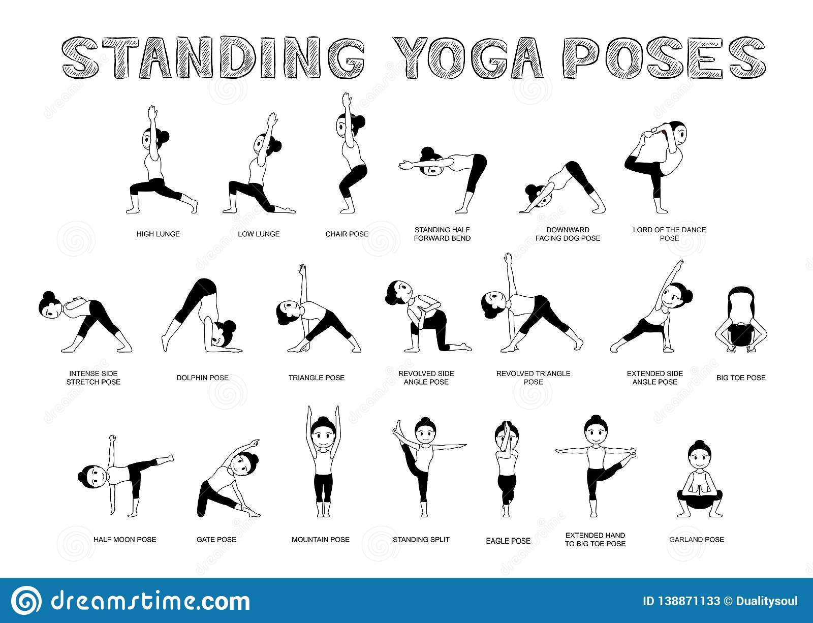 Standing Yoga Poses For Posture