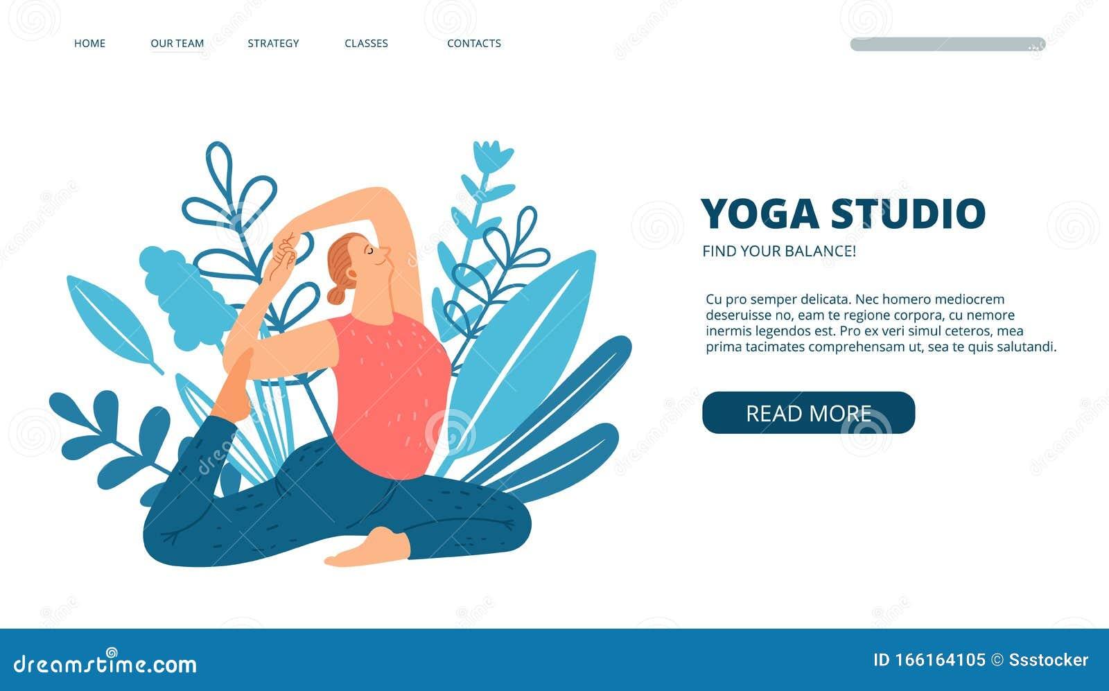 Yoga Web Stock Illustrations 18 776 Yoga Web Stock Illustrations Vectors Clipart Dreamstime