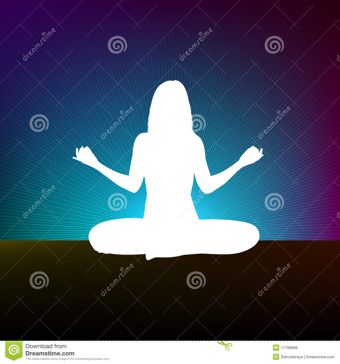 Yoga style template design. EPS 8 file included.