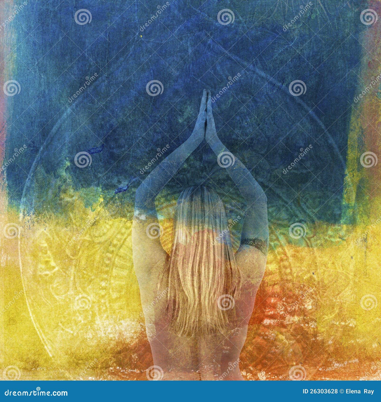 Tantra Yoga: Yoga Tantra Royalty Free Stock Photos