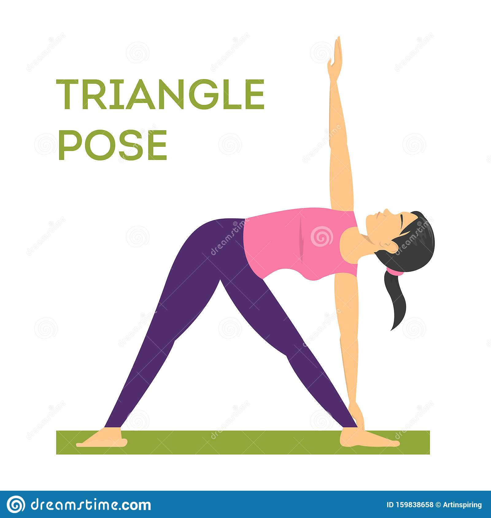 Triangle Pose Exercise