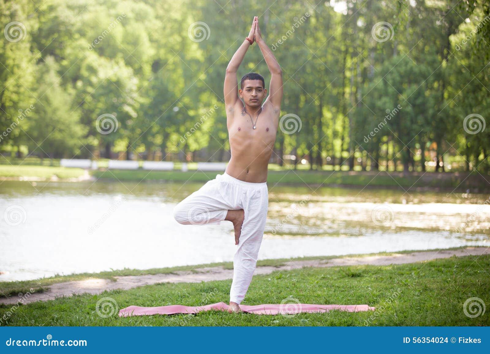 Yoga Vrikshasana Pose Stock Photo Image Of Practice