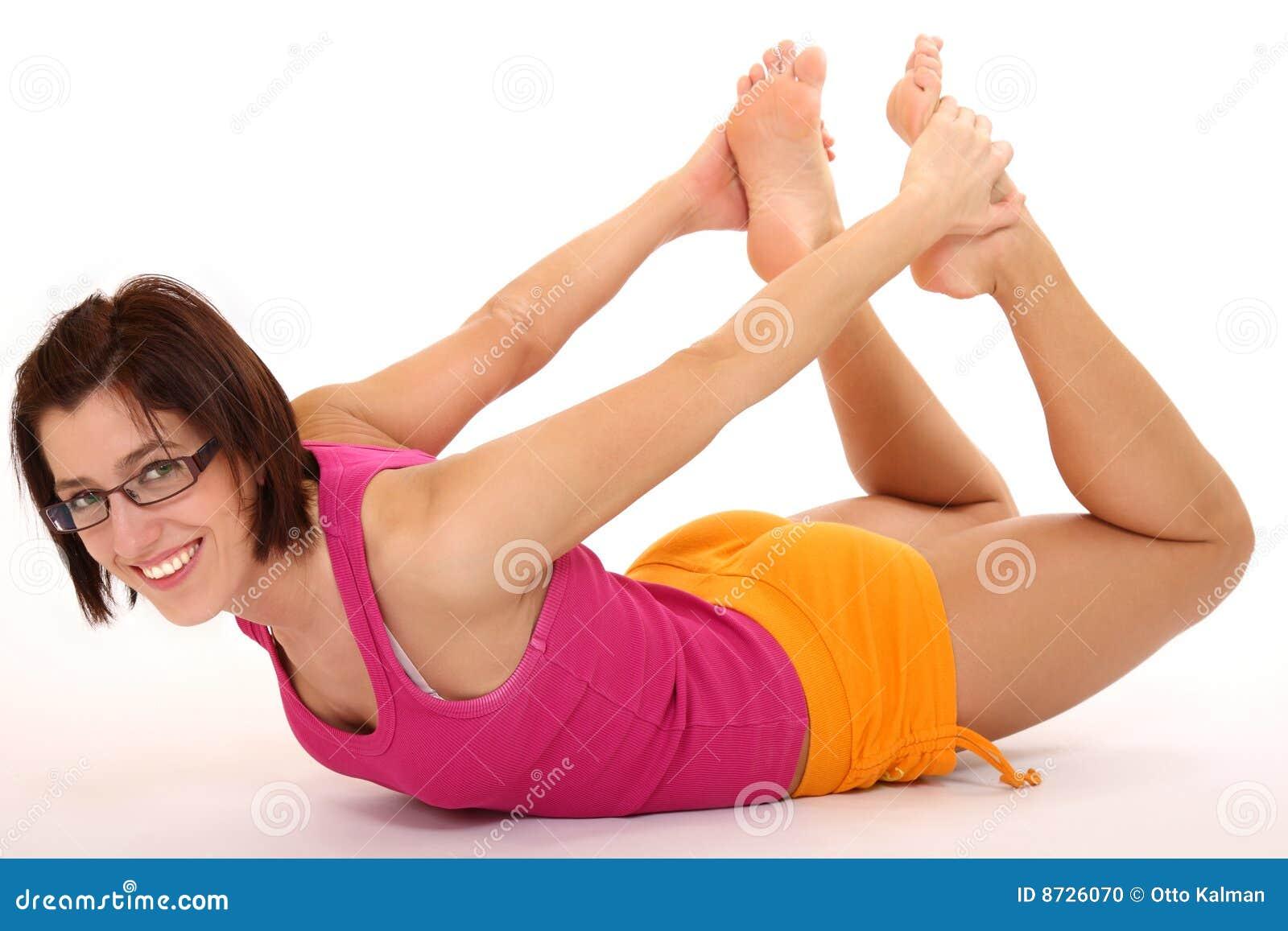 young woman doing yoga pose mr yes pr no 2 349 2