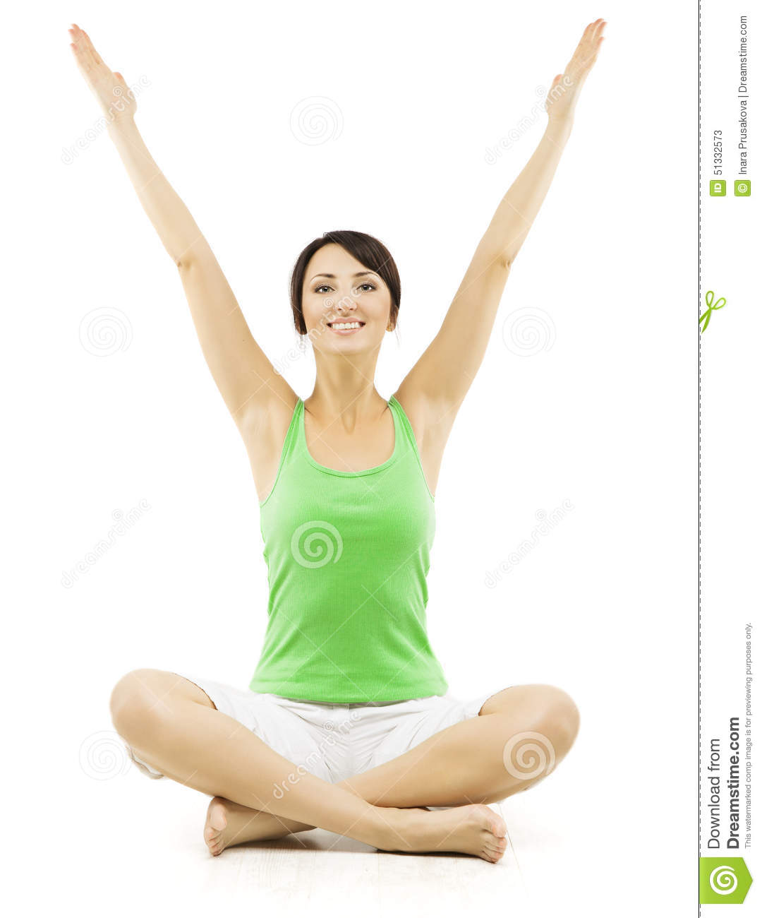 yoga woman  happy female open hands raised up  lotus pose lotus clip art black and white lotus clipart black and white