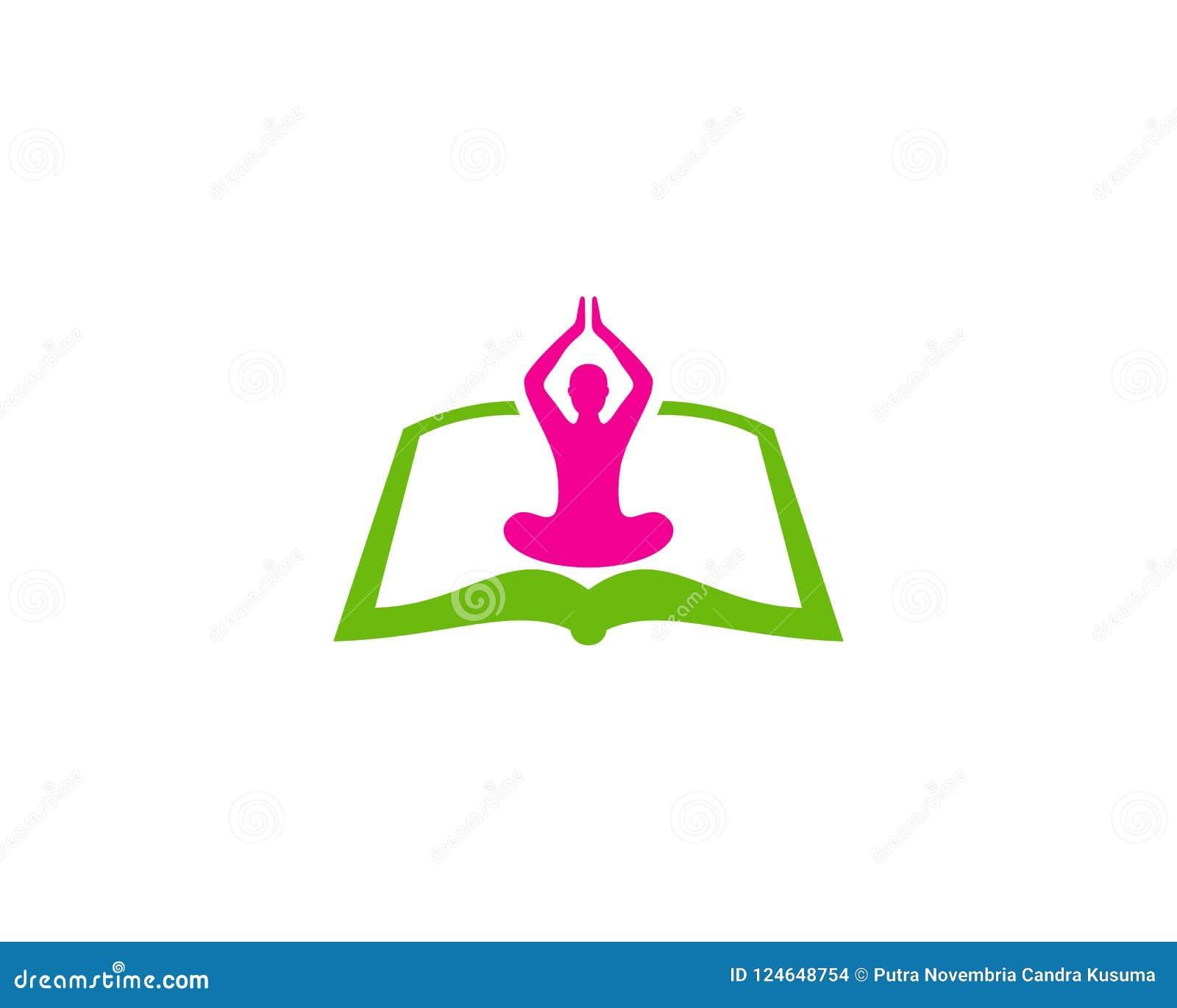 Yogaboek Logo Icon Design