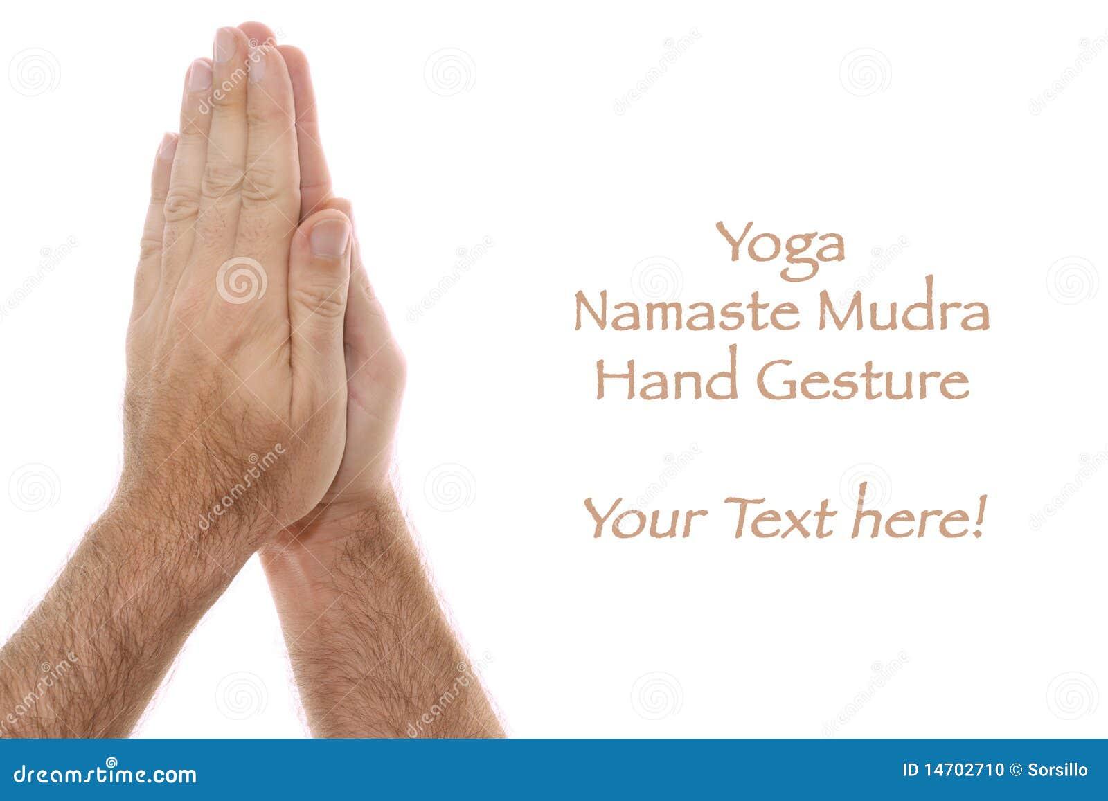 Yogic Hand Position Na...