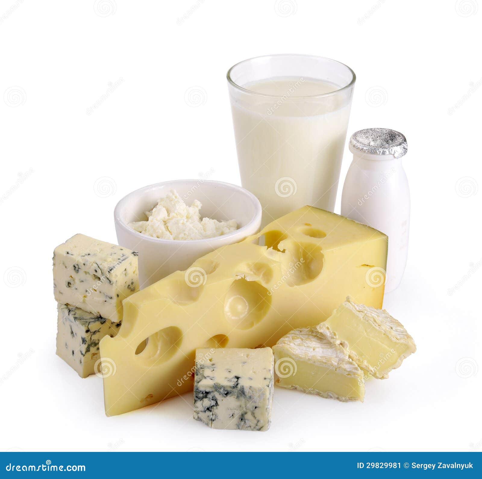 Yogurt do queijo do leite