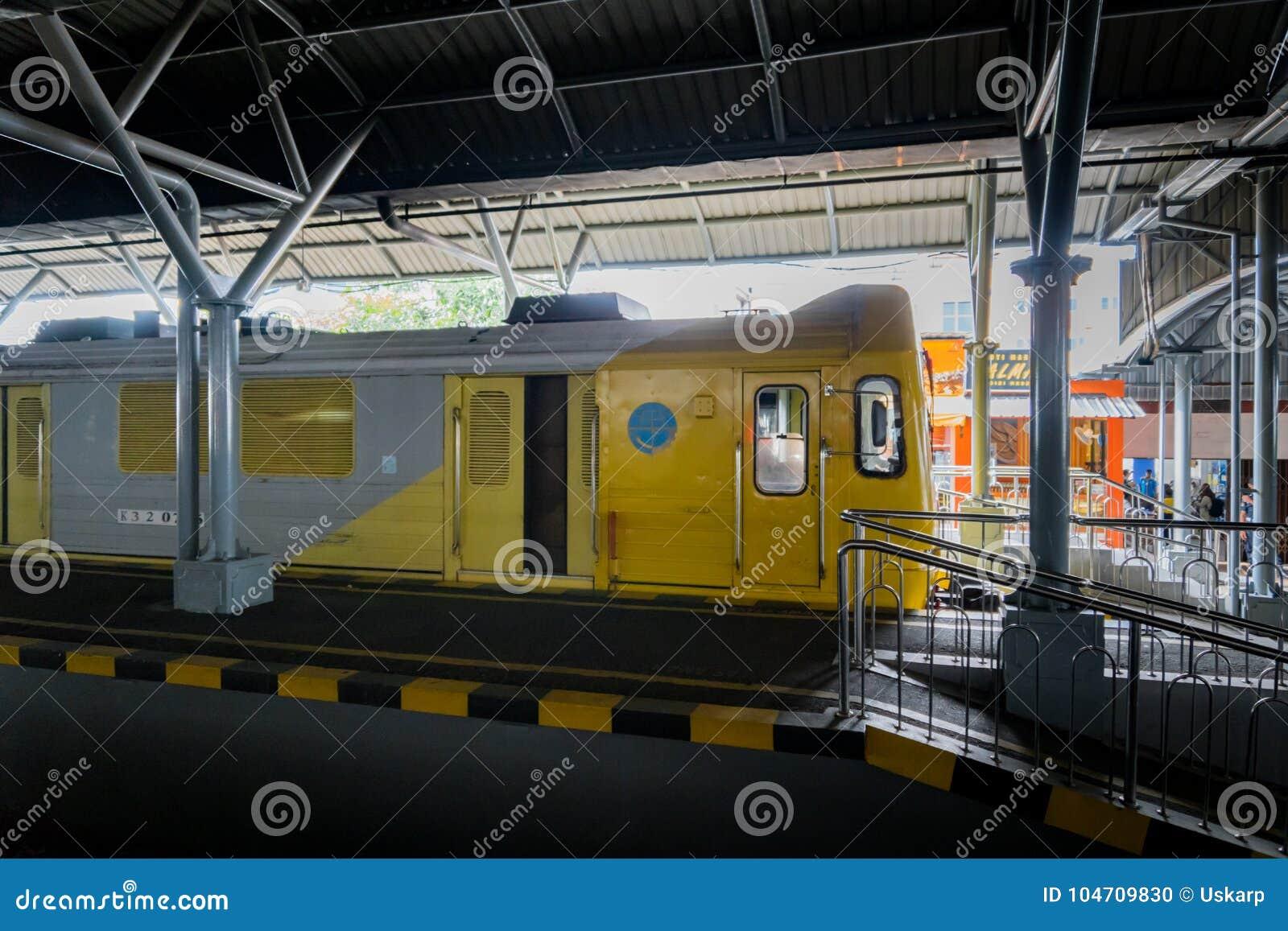 Train In Indonesia In Yogyakarta Operated By PT Kereta Api