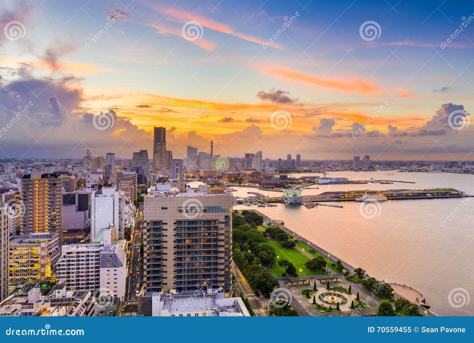 Yokohama Japan Skyline