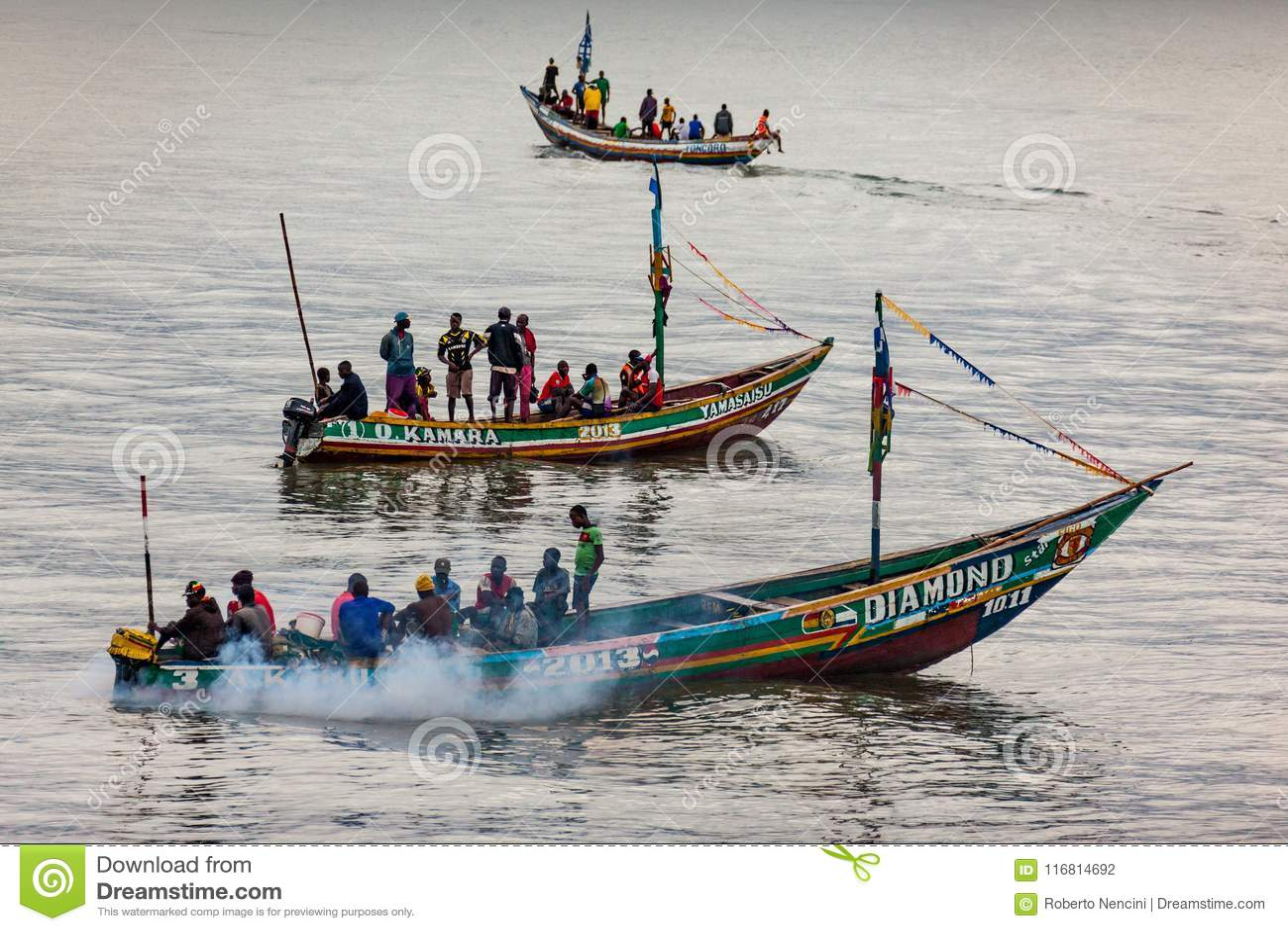 Yongoro, Sierra Leone, Africa occidentale - le spiagge di Yongoro