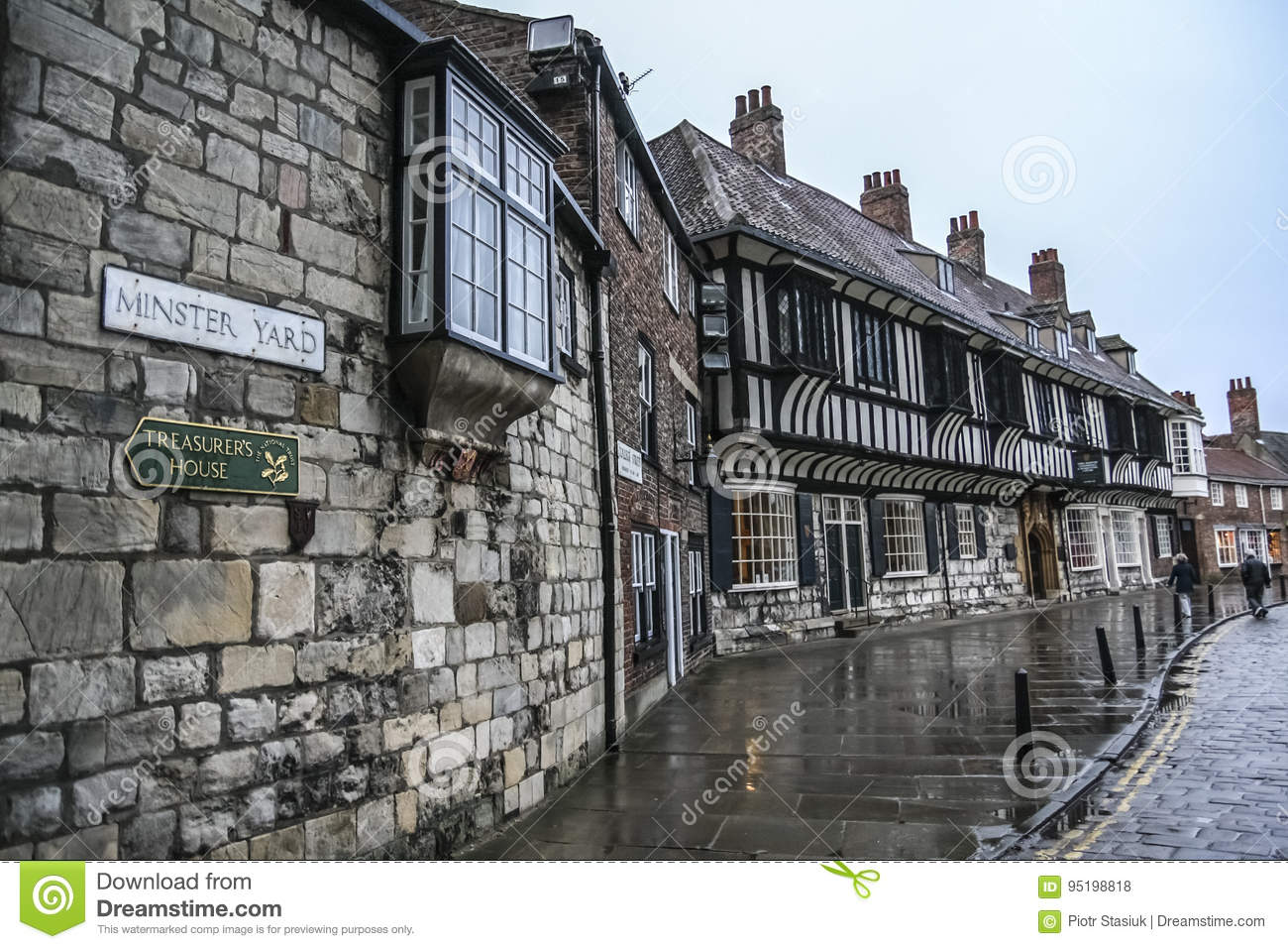 York/England - June 12, 2011: Minster Yard in the City of York