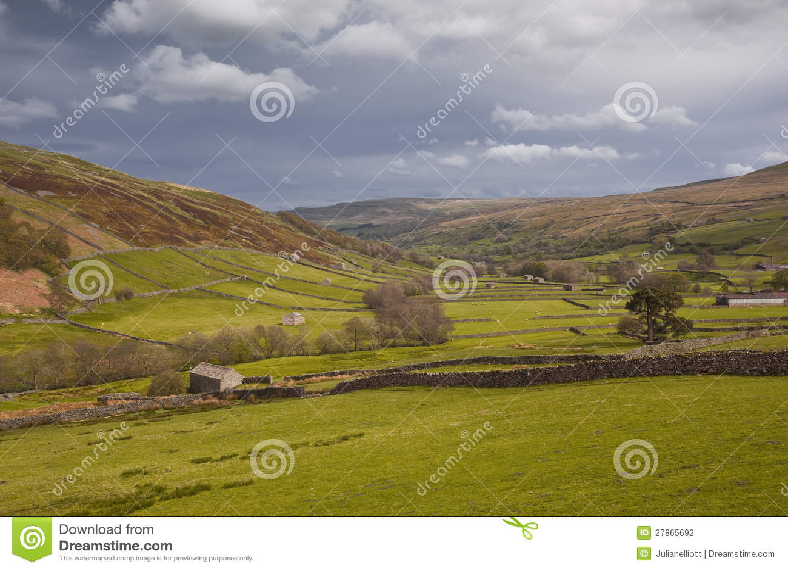 Yorkshire Dolin sceneria
