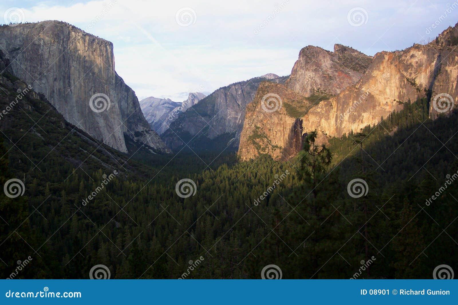 Yosemite doliny