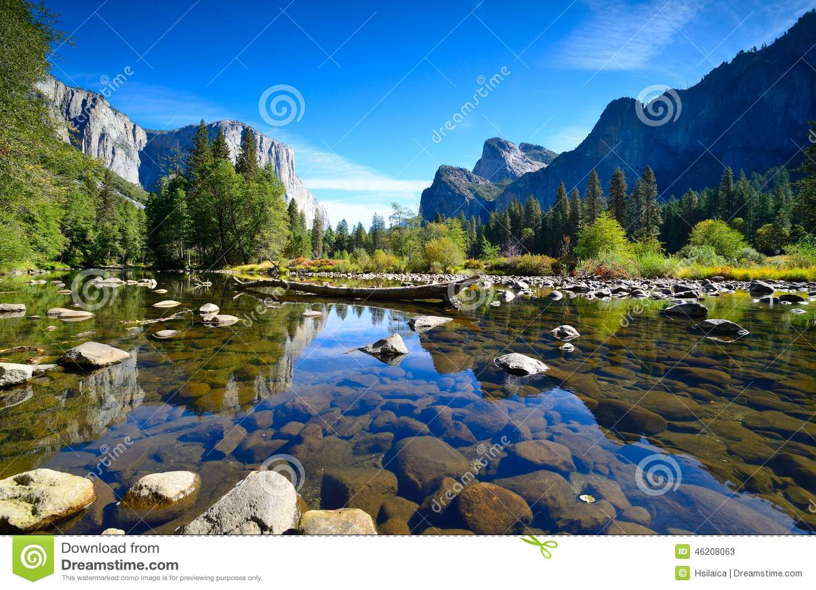Yosemite landskap