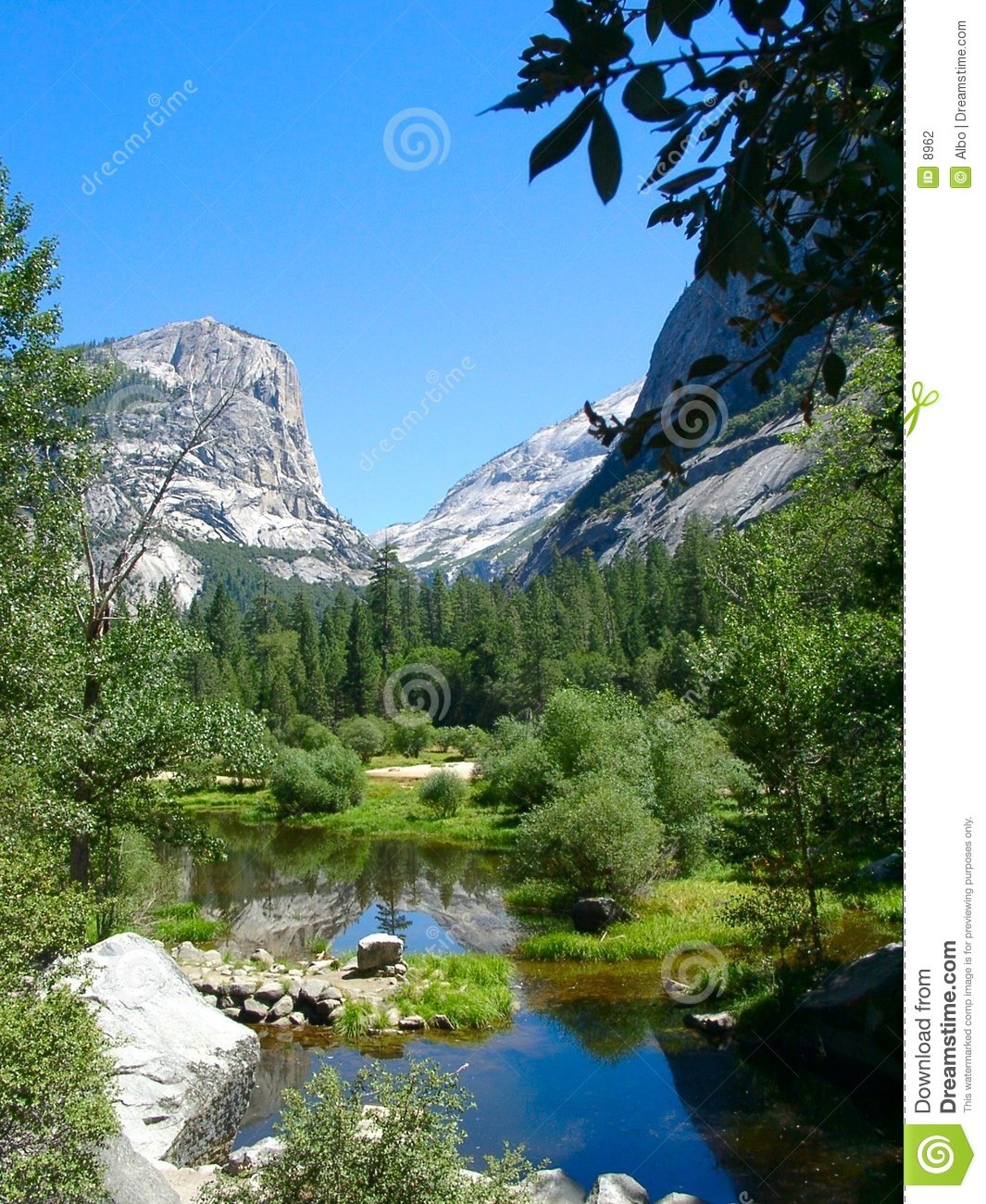 Yosemite: Mirror Lake