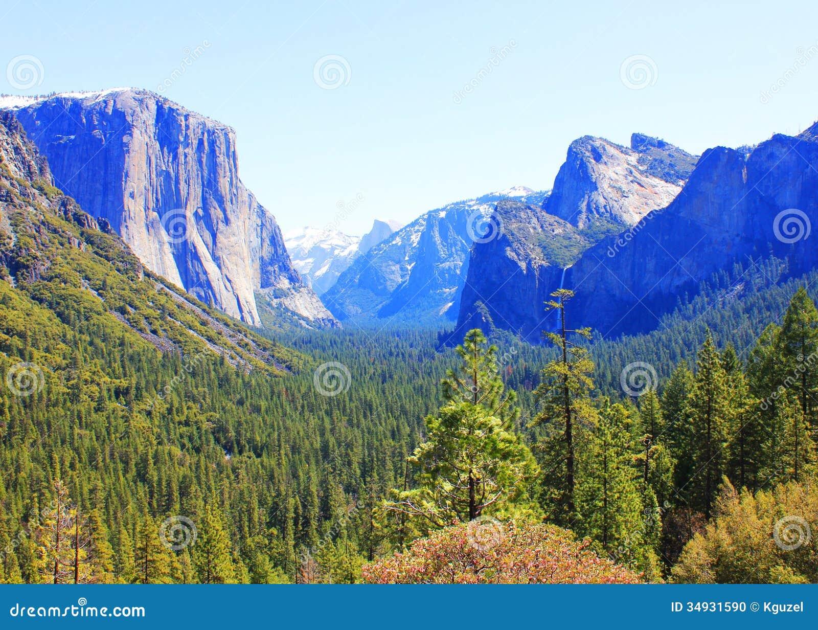 Yosemite National Park California USA. Landscape Stock Photo - Image 34931590