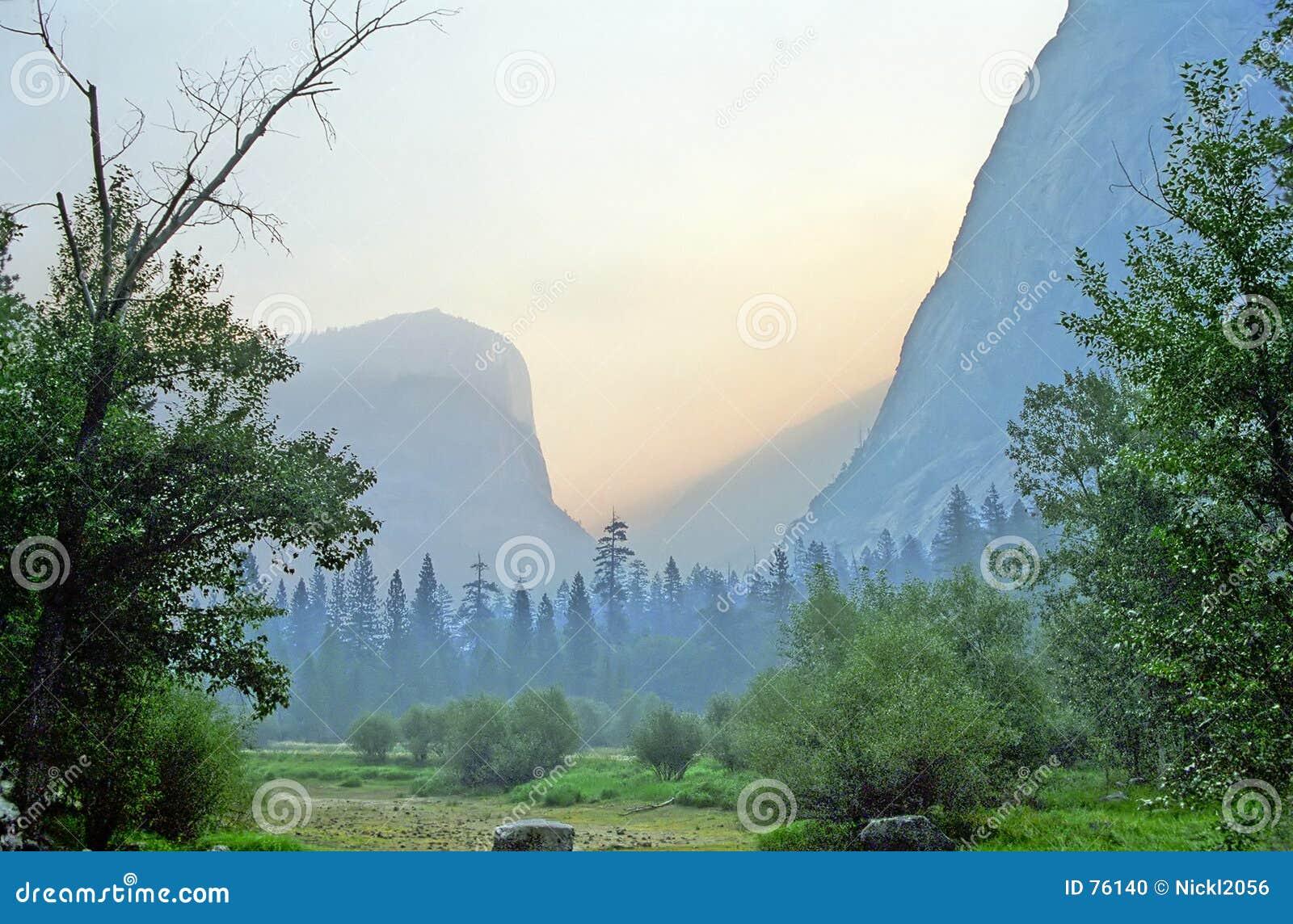 Yosemite-Sonnenaufgang