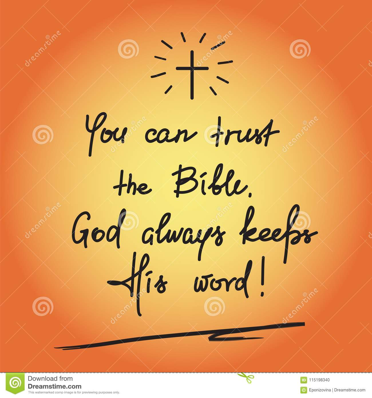 You Can Trust The Bible, God Always Keeps His Word - Motivational