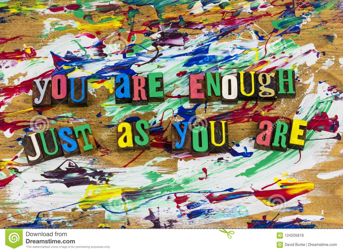 You are enough love