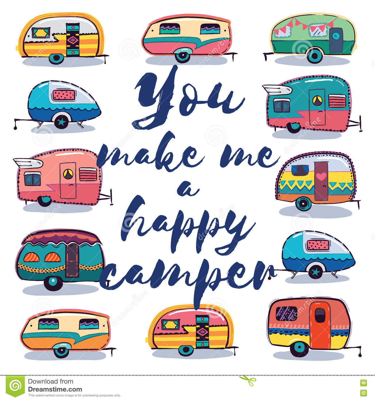 camper cartoons  illustrations   vector stock images beach party border clipart beach party background clipart