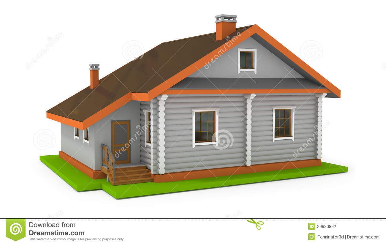 Simple house stock illustration illustration of for Creating a minimalist home