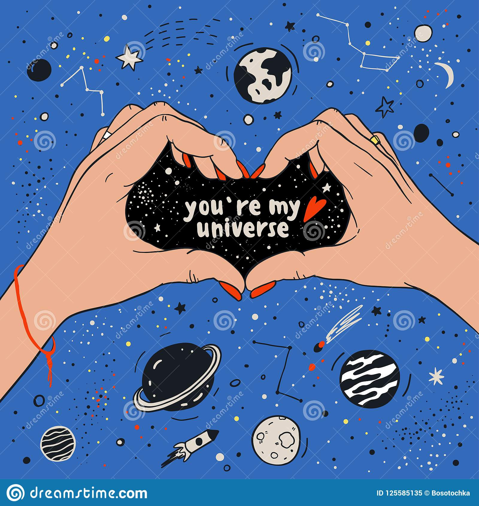You Are My Universe Love Romantic Space Travel Cosmos Astronomy