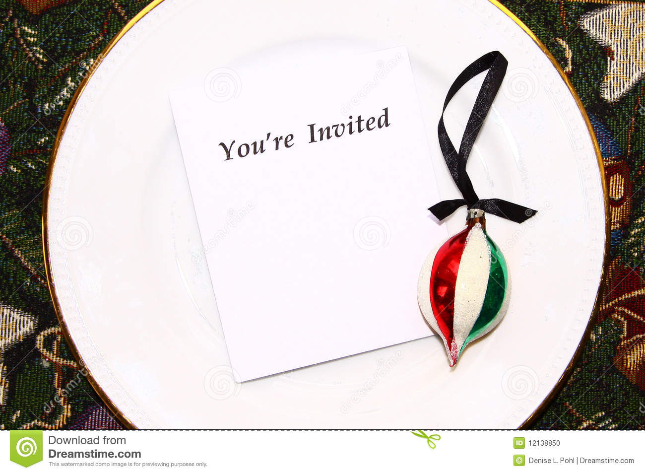 You're Invited Stock Photo - Image: 12138850