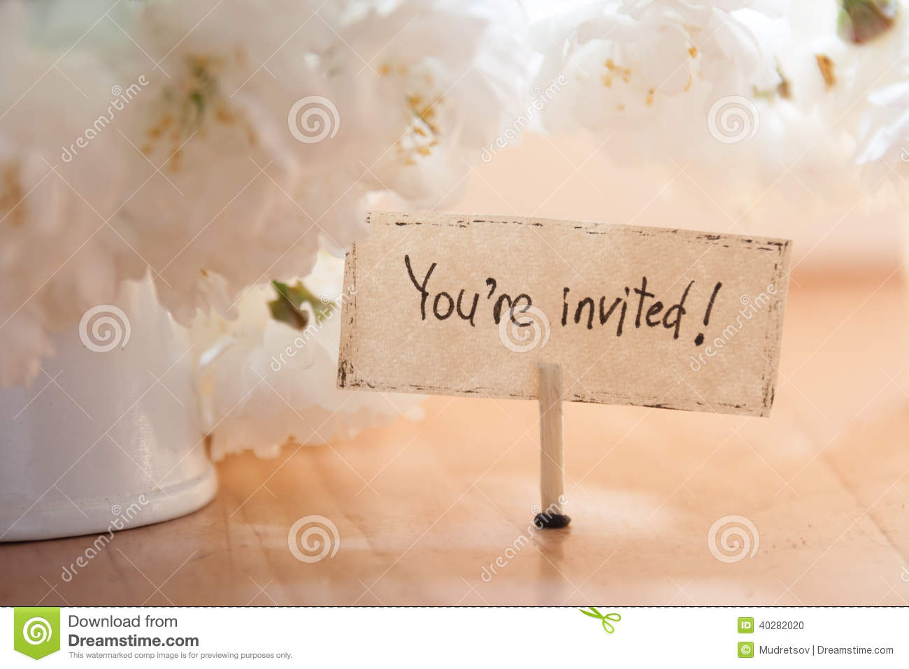 youre invited stock photo image 40282020